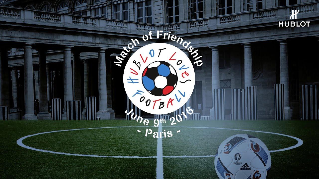 HUBLOT - Pelé and Maradona for a match of Friendship
