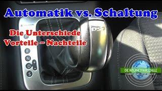 Automatik vs. Schaltwagen - Die Unterschiede - Fahrstunde