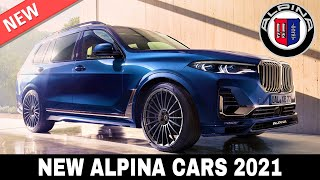 Top 8 Alpina Cars that Show How Good BMW Can Be with Proper Premium Customizations