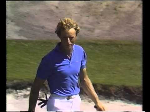1986 Australian Open Golf won by Rodger Davis | ABC TV | Metropolitan Golf Club