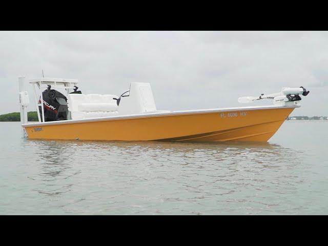 Florida Sportsman Project Dreamboat [2021] - Super Custom 18 Maverick & Outboard Oil Change Basics