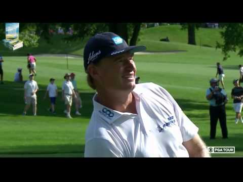 Ernie Els' Electrifying Golf Shots 2016 Quicken Loans PGA Tournament