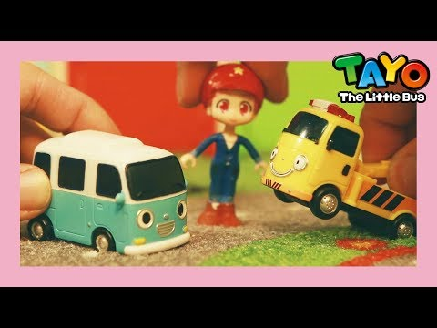 Tayo Toto and The baby van Bongbong's adventure! l Tayo Toys Story l Tayo the Little Bus