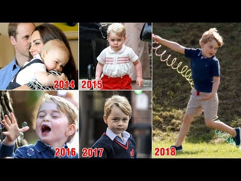 Revealing portrait of Prince George on his fifth birthday - He's growing into such a settled little