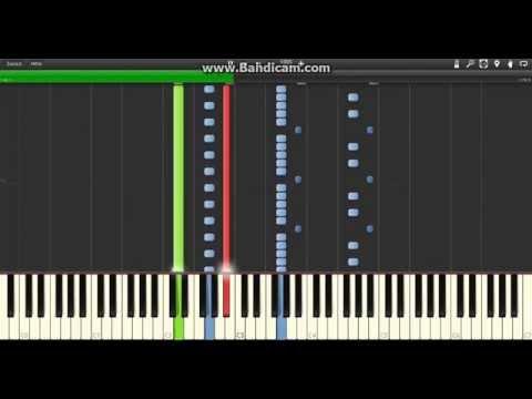 The Piano Guys - Bourne Vivaldi - Synthesia