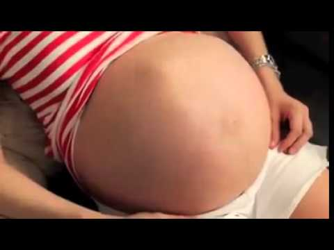 Twins baby movement… Watch till the end… Amazing ohh !!