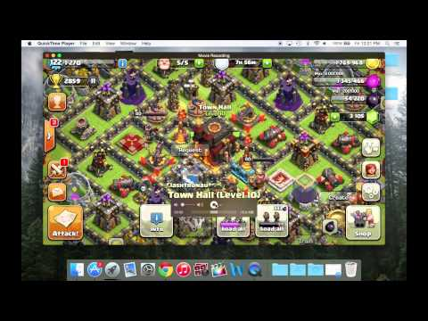 Best Way to Record Clash of Clans! (iOS + Mac)