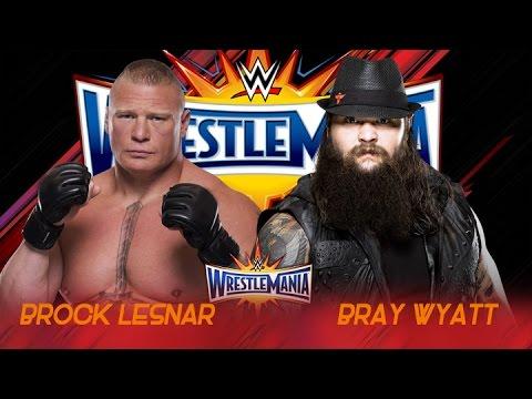 Brock Lesnar vs Bray Wyatt Wrestlemania 33 - Promo - HD thumbnail