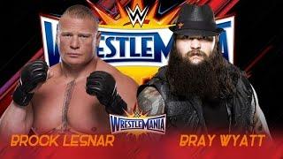 Brock Lesnar vs Bray Wyatt Wrestlemania 33 - Promo - HD