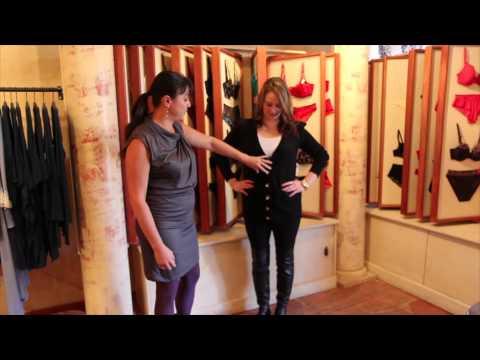 BRA 101: How to Wear a Lace Bra - YouTube