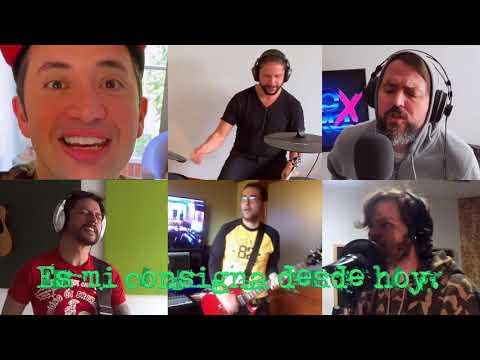 CUATRO X CUATRO - DESDE HOY (video en casa) Ft OCTUBRE NEGRO, CODIGO ROJO