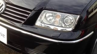 【動画】2002y VW ボーラ V6 4モーション 6速MT 黒革 D車