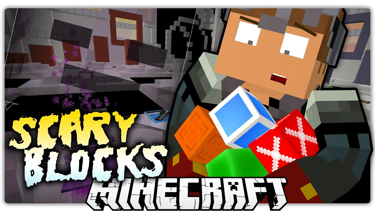 minecraft scary blocks map download