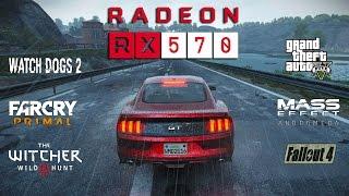 radeon RX 570 Test in 7 Games (Ryzen 1400)
