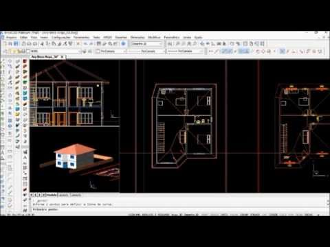 Tutorial do Arqui 3d no BricsCAD parte 2