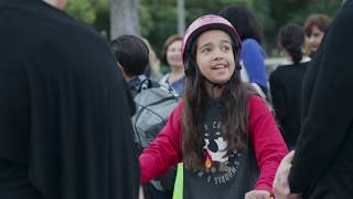 Longfellow Elementary School - Walk to School Day 2019