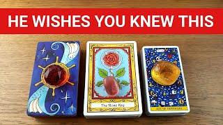 WHAT IS HE *DYING* TO TELL YOU? 😲💖🤫 *Pick A Card* Love Tarot Reading Twin Flame Soulmate Ex