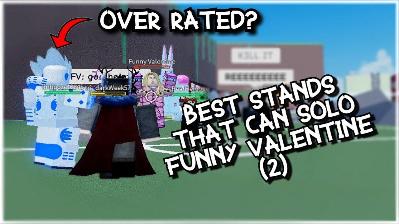 Best Stands For Farming Funny Valentine 2 A Bizarre Day