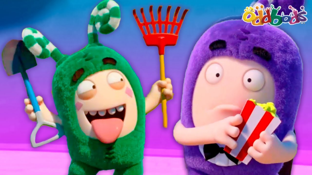 Oddbods 😲 Trapped In The Drive Thru 😲 Funny Cartoons For Children
