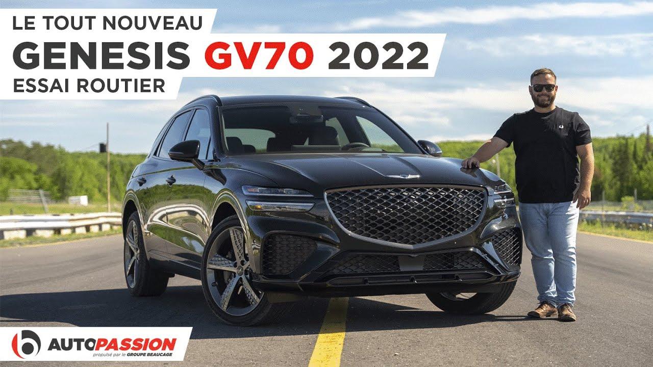 Genesis GV70 2022 - Le VUS De L'Heure !