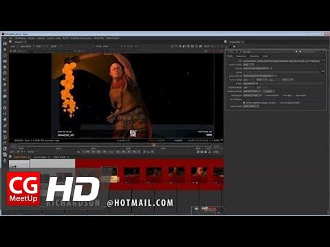 CGI 3D Tutorial HD: RealtimeUK Nuke Pipeline Demo by Matt Richardson