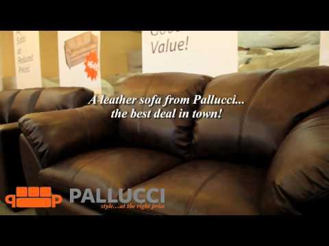 Pallucci Furniture Leather Sofas Vancouver