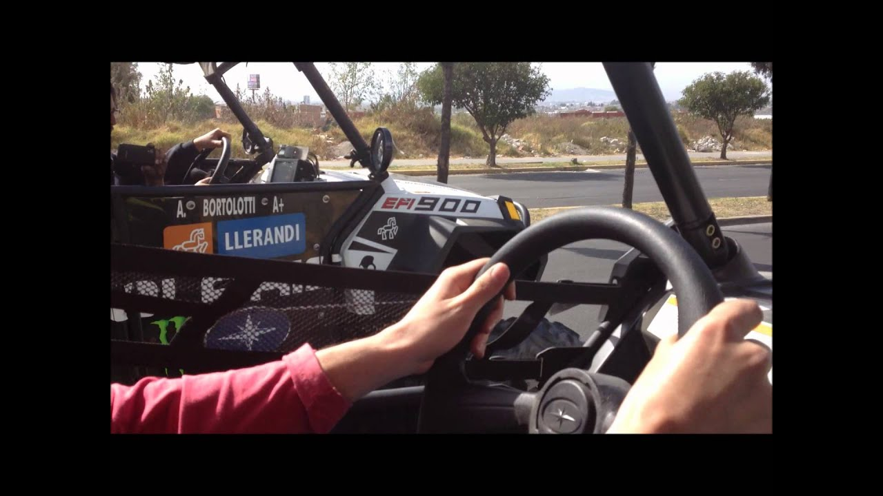 Stock Polaris RZR XP 900 vs SuperCharged Polaris XP 900