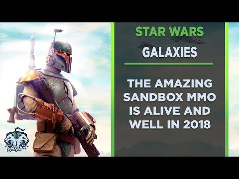 Star Wars Galaxies is alive and well in 2018