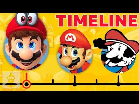 The Complete Super Mario Timeline...So Far | The Leaderboard