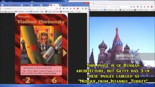 RUSSIA CONSIDERS NUKING TURKEY! Illuminati Playing Card IMAGE MISLABELED AS ISTANBUL TURKISH MOSQUE