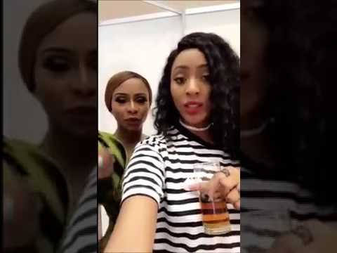 Nadianakai & Boity Twerking and Hanging Out AT The  MMA16 Backstage thumbnail