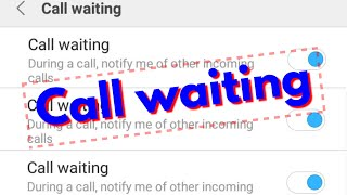 How To Enable/Activate Call Waiting Service On Android Mobile & Turn On This Feature In Permanently