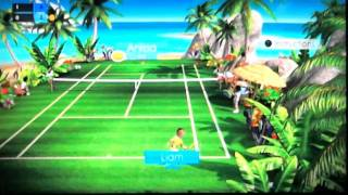 Racket Sports gameplay- PS Move w/commentry
