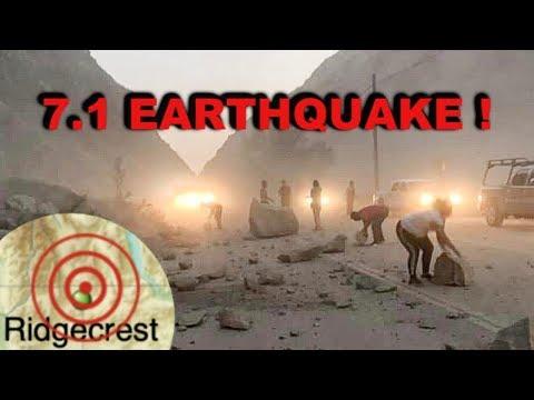 Massive 7.1 EARTHQUAKE in Southern California! (VLOG 1)
