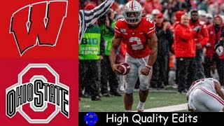 #13 Wisconsin vs #3 Ohio State Highlights | NCAAF Week 9 | College Football Highlights