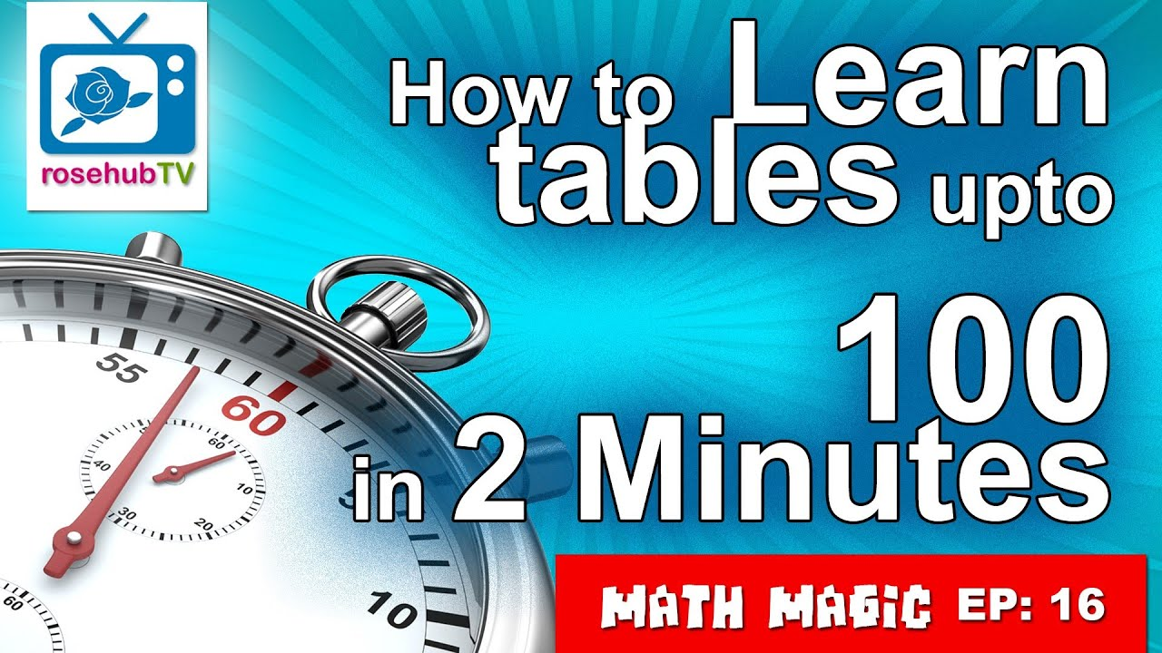 Learn table up to 100 in few minutes english learn table up to 100 in few minutes english khanacademytalentsearch gamestrikefo Gallery