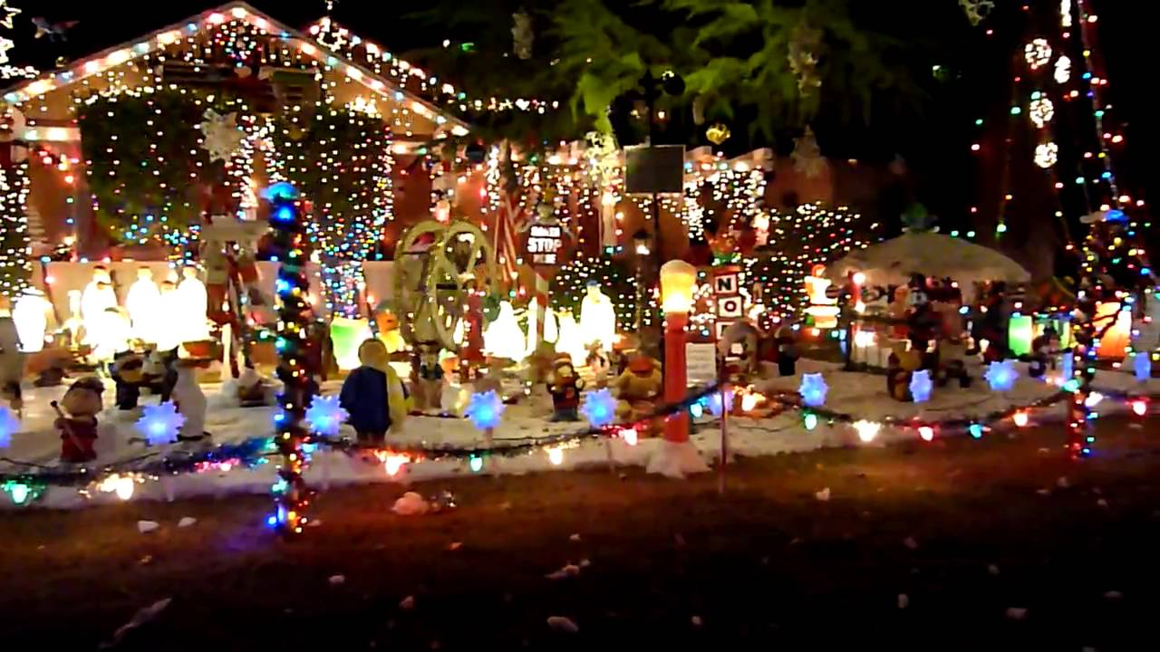 Christmas Lights Pasadena