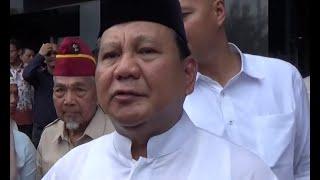 Prabowo Ucapkan Bela Sungkawa Korban Terdampak Tsunami Selat Sunda