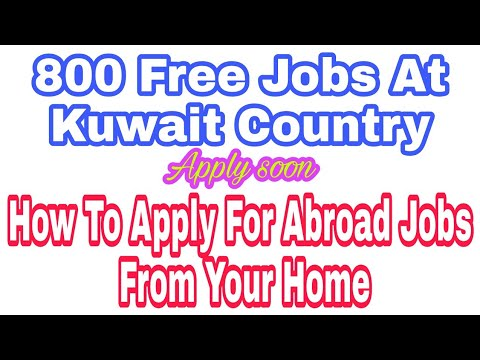 800 Free Kuwait Jobs At Hotel, Civil And Mall, Lines, Free Visa, Ticket And Medical By Company,Hindi