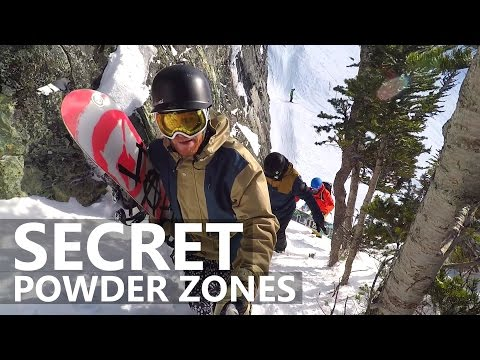 Riding Secret Powder Zones in Whistler
