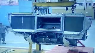 HONEYWELL AGT 1500 HP GAS TURBINE ENGINE FOR M1A2 ABRAMS TANK