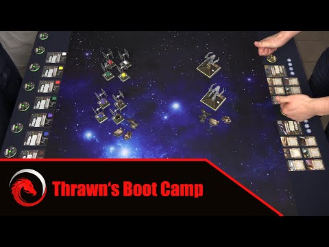 8 T/Fighter Swarm vs. 2 Aggressors | X-Wing Miniatures Game Battle Report