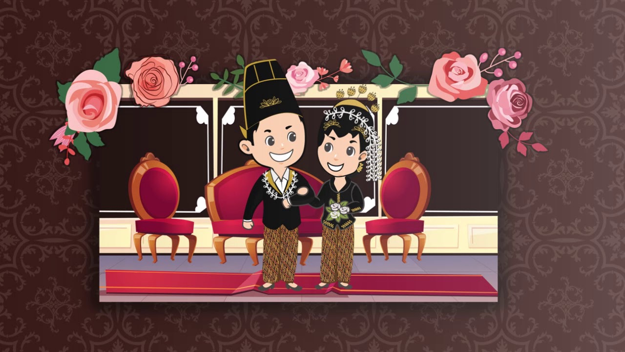 Undangan Pernikahan Video Motion Graphic 2019 Adat Jawa Wedding Invitation