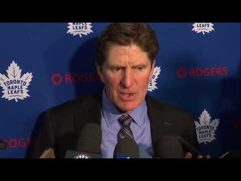 Maple Leafs Post-Game: Mike Babcock - January 20, 2018