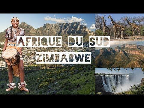 Voyage Tourisme Afrique du Sud, Zimbabwe en voiture 4K