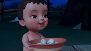 Goru Goru Mudda | Telugu Rhymes & Baby Songs | Infobells