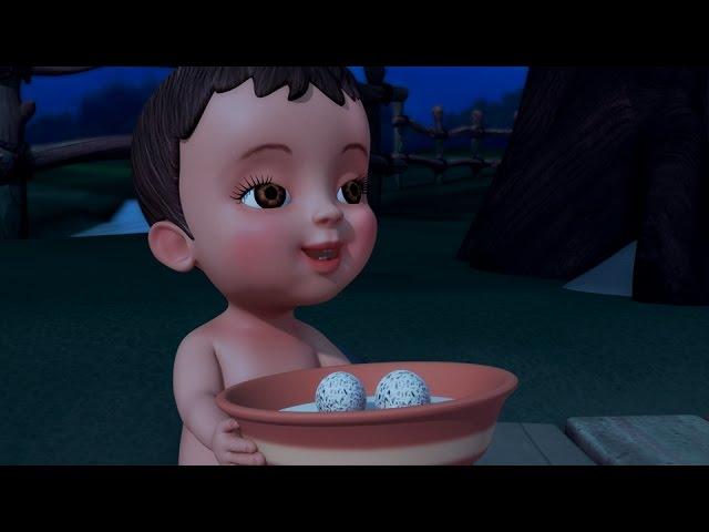 Goru Goru Mudda   Telugu Rhymes & Baby Songs   Infobells #1