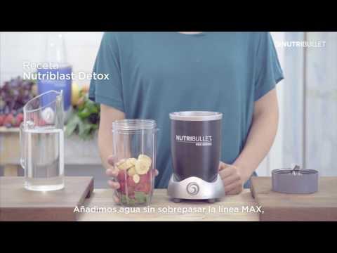 Recetas para bajar de peso con el nutribullet rx