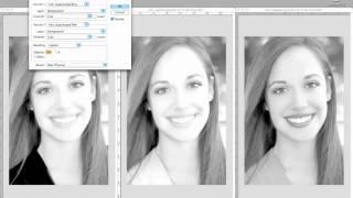 Photoshop: bianco e nero 5 usare i Calcoli