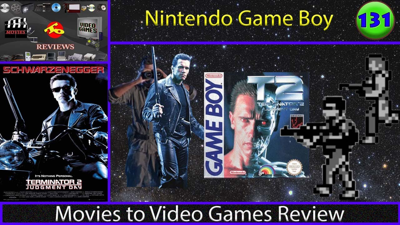 Movies to Video Games Review - Terminator 2: Judgment Day (Game Boy)